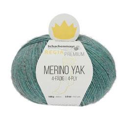 REGIA Premium 4-Fädig Merino Yak Mineralblue 07518