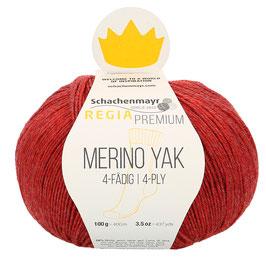 REGIA Premium 4-Fädig Merino Yak Himbeer meliert 07507