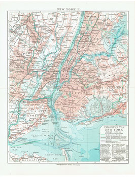 Map of Greater New York, ca. 1910-1920