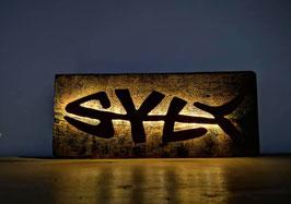 SYLTFISCH-LAMPE