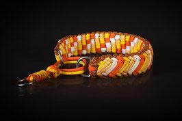 Paracordzugstopp mit 2 Seilen
