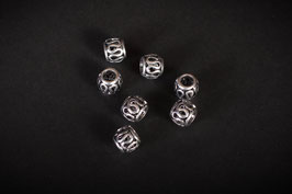 Perlen Beads 8x9 mm