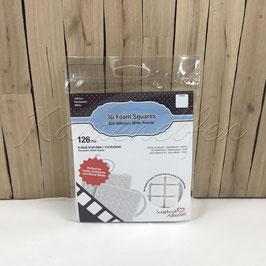3D Klebepunkte | Abstandpads quadratisch