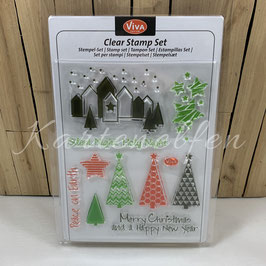 Clear Stamps | Silent Night, Holy Night