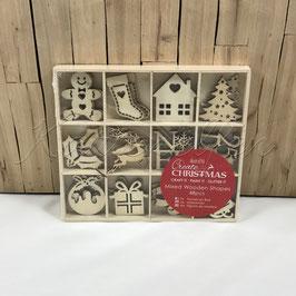 Holzformen | Weihnachten klein