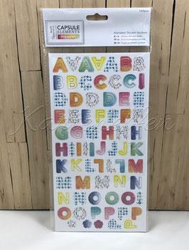 Stickers | ABC farbig klein