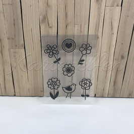 Clear Stamps | Blumen Comic