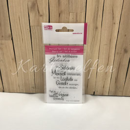 Clear Stamps | Trauer stilles Gedenken