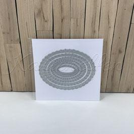Stanzschablone | Etikett oval II