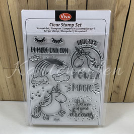 Clear Stamps | Unicorn