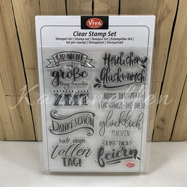 Clear Stamps | Lettering