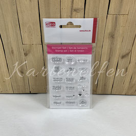 Clear Stamps | Handmade small