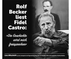 """CD """"Rolf Becker liest Fidel Castro: Die Geschichte wird mich freisprechen"""""""