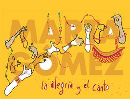 """CD """"Marta Gómez - """"La alegría y el canto"""""""