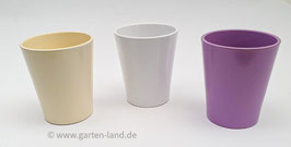 Übertöpfe verschiedenen Farben Durchmesser ca. 10cm H. ca. 12cm