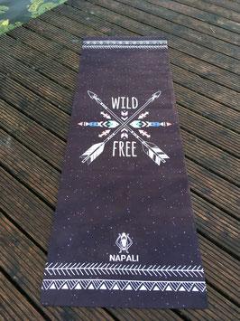"Napali Yogamatte  Travel Yogamatte""Wild & Free"""