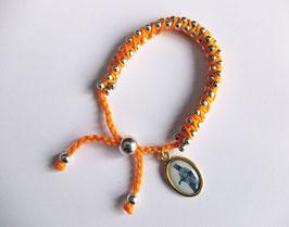 Bracelet avec médaille Vierge Noire