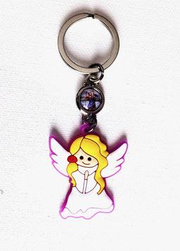 Joli porte-clés Ange blond