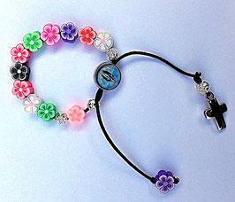 Bracelet Vierge Marie pour fille