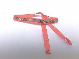 3 bracelets ruban, vaincre la timidité