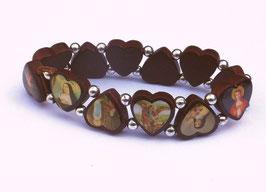 Bracelet des Saints, petits cœurs