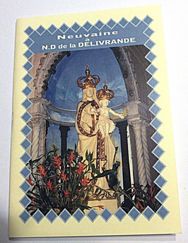 Livret de neuvaine Notre Dame de la Délivrande