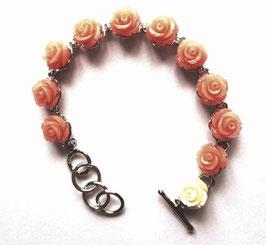 Bracelet dizainier, les roses de Sainte Thérèse