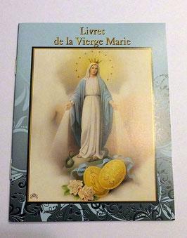 Livret de prières Vierge Marie