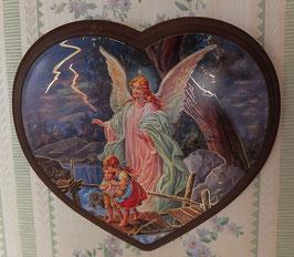 L'ange indique le bon chemin aux enfants