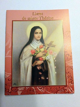 Livret de prières Sainte Thérèse
