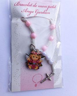 Adorable bracelet religieux, bébé Ange
