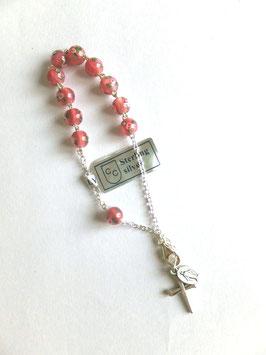 Délicatesse, bracelet dizainier Sainte Thérèse