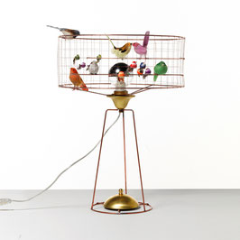 Lámpara pájaros de sobremesa baja