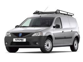 MTS-Dachträger schwarzlackierter Stahl für Dacia Logan