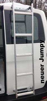 MTS-Leiter für Hintertüren aus Aluminium