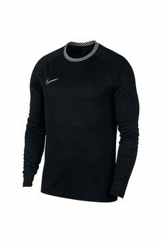 NIKE long sleeve shirt, zwart - Maat L -