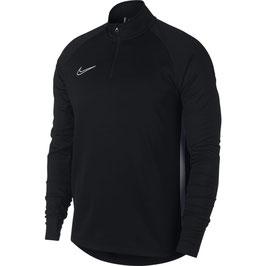 NIKE Academy zip-sweater, zwart