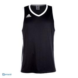 Basketbalshirt ADIDAS Ekit zwart/wit