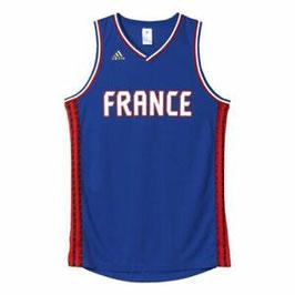 Basketbalshirt ADIDAS FRANKRIJK nationaal shirt
