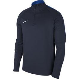 NIKE Academy zip-sweater, blauw - Maat XXL -