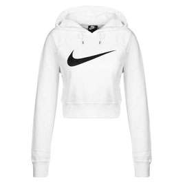 NIKE Hooded fitness-sweater dames - Maat XS - wit