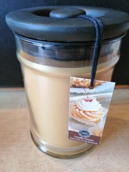 """Bridgewater Duftkerze im Glas """"Vanilla Cream"""" , Größe L"""