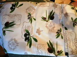 Tischdecke Oliven rund 170 cm Durchmesser