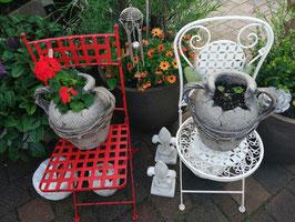 Gartenklappstuhl creme