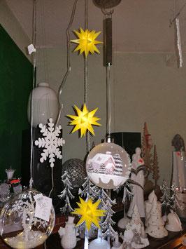 3er-LED- Kette Sterne gelb von Formano