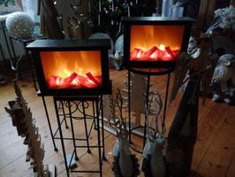 Kaminfeuer (LED-Licht und Bewegung)