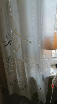 Seitenschal mit Überhang für Fenster