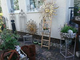 Metallsonne zum Hängen für den Innen- und vor allem Außenbereich