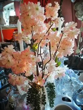 """Blütenast """"Pfirsichblüte"""" mit LED-Licht"""