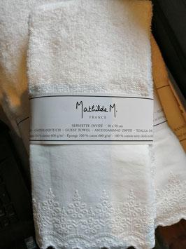 Gästehandtuch von Mathilde M in creme